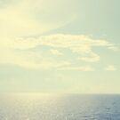 Peaceful Ocean - Ocean Water Landscape Photograph by ameliakayphotog