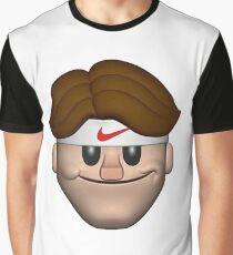 SPORT ROGER FEDERER EMOJI Graphic T-Shirt