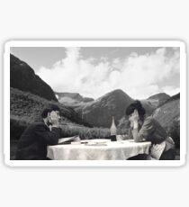 Collage Une femme est une femme - Jean-Luc Godard Sticker