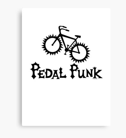 Pedal Punk  Canvas Print