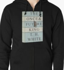 X-Men First Class: The once and Future King (without blood) Zipped Hoodie