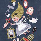Alice in Wonderland by WanderingBert
