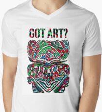 Got Art - Santa Cruz Men's V-Neck T-Shirt