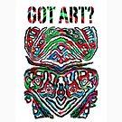 Got Art - Santa Cruz by Andi Bird