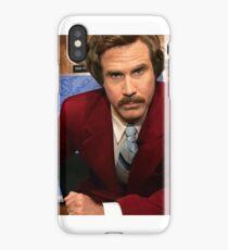 Ron Burgundy iPhone Case