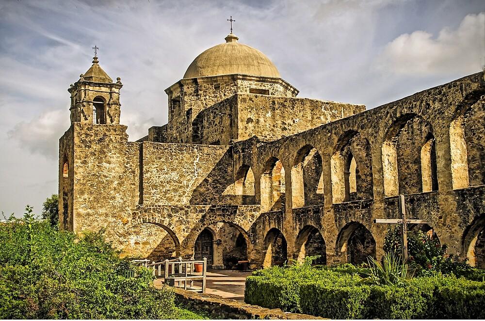 Mission San Jose, San Antonio, Texas, USA by TonyCrehan