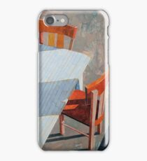 """Table & chairs"" iPhone Case/Skin"