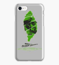 Invasion of the body snatchers iPhone Case/Skin