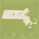 Massachusetts Golf Courses by FinlayMcNevin