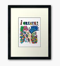 i Create On Track Framed Print