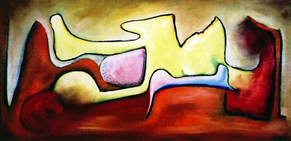 IN A YELLOW MOOD by IRENE NOWICKI