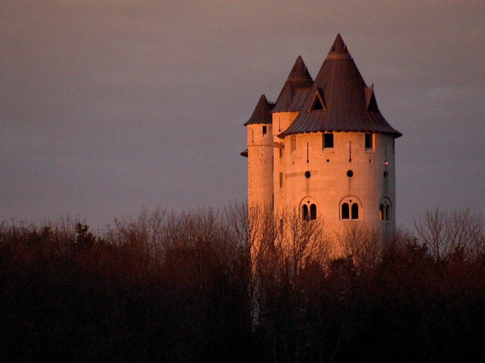 Castle at Sunset by Walter Strength