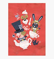 Mad Hatter's Tea Party - Alice in Wonderland Photographic Print