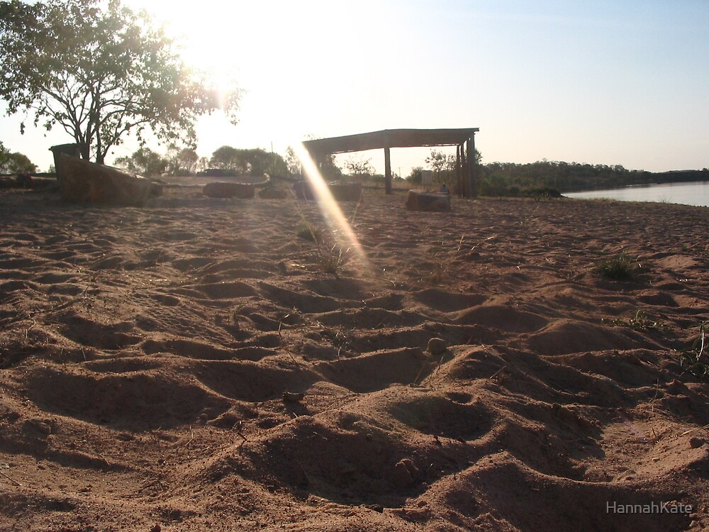 Shadows in the Sand by HannahKate