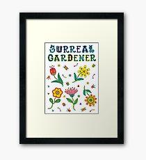 Surreal Gardener Framed Print