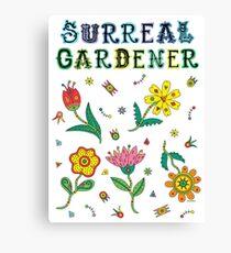 Surreal Gardener Canvas Print