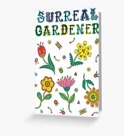 Surreal Gardener Greeting Card