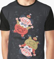 Tweedledum & Tweedledee - Alice in Wonderland Graphic T-Shirt