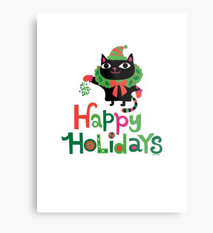 Happy Catiday Holiday   Metal Print