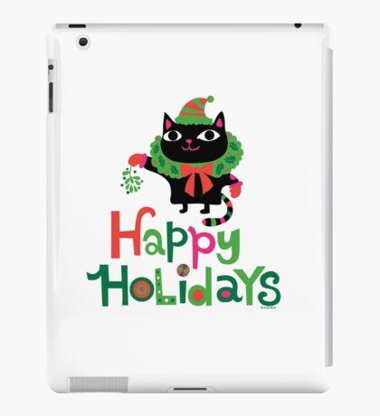 Happy Catiday Holiday   iPad Case/Skin
