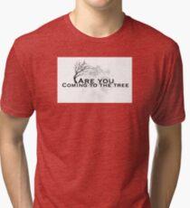 The hanging tree lyrics ( hunger games) Tri-blend T-Shirt