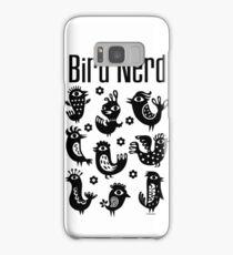Bird Nerd - black Samsung Galaxy Case/Skin
