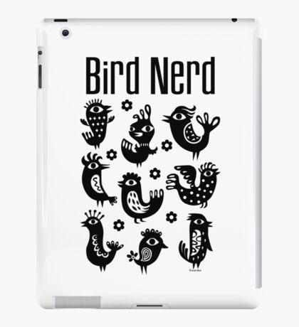 Bird Nerd - black iPad Case/Skin