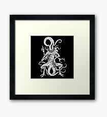 Bloody Tongue Framed Print