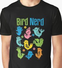 Bird Nerd - dark Graphic T-Shirt