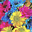 Dyed Dasies by TinaGraphics