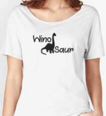 WINO SAUR Women's Relaxed Fit T-Shirt