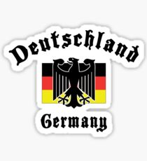Deutschland Germany Sticker