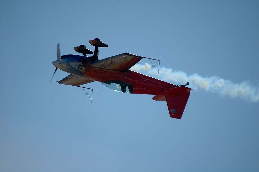 Upside Down Eagle @ Temora, Australia 2007 by muz2142