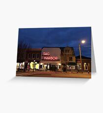 Sag Harbor Cinema Greeting Card