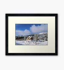The Chapel on the Rock I Framed Print