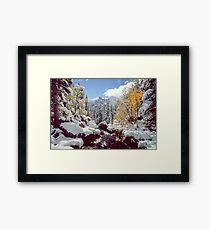 Tyndall Creek Framed Print