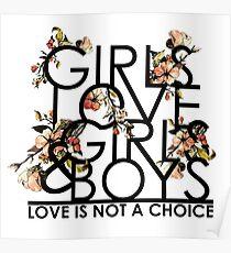 GIRLS/GIRLS/BOYS Poster