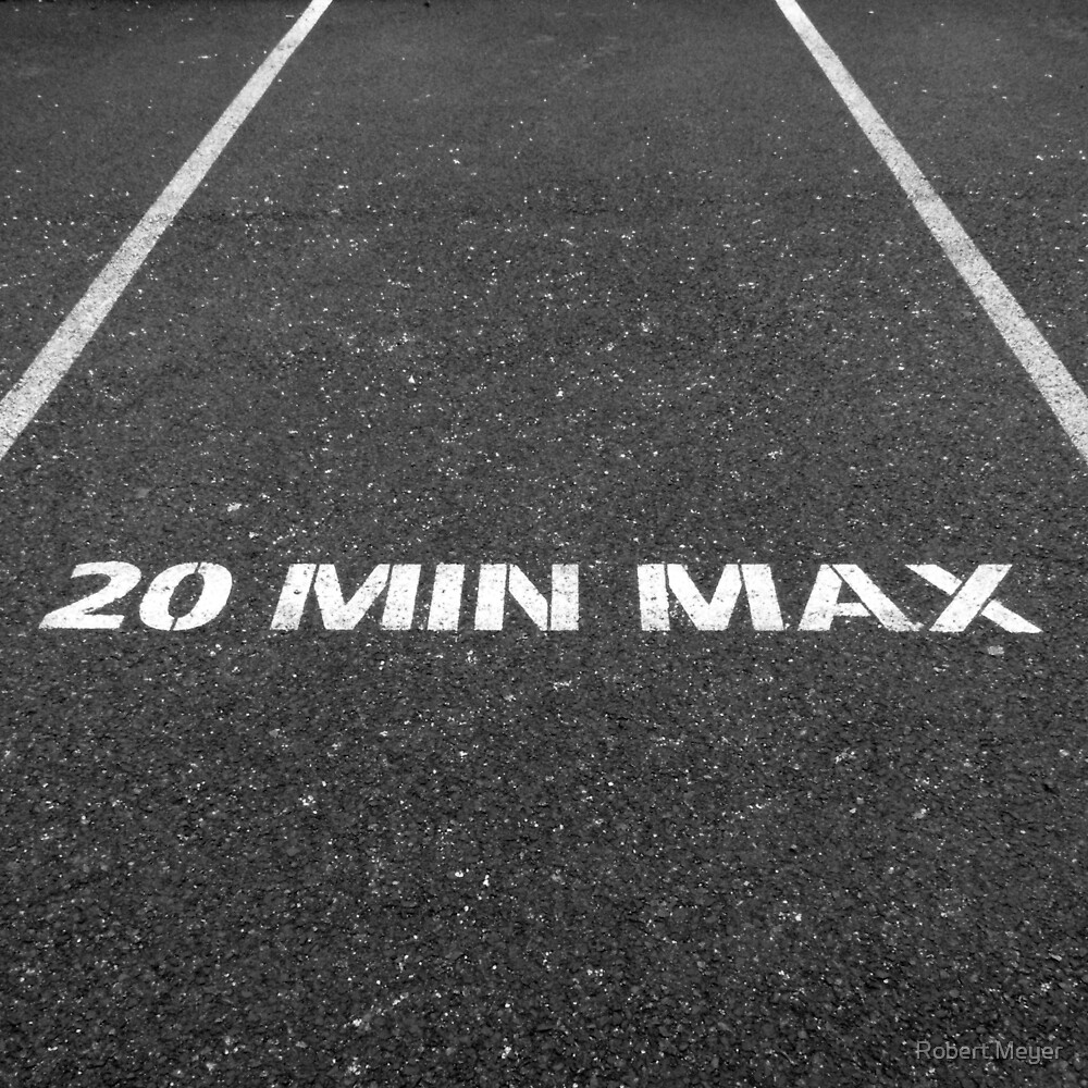 20 MIN MAX by Robert Meyer