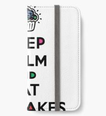 Keep Calm and Eat Cupcakes 6 iPhone Wallet/Case/Skin