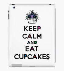 Keep Calm and Eat Cupcakes 6 iPad Case/Skin