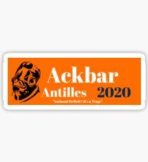Ackbar Antilles 2020 Sticker