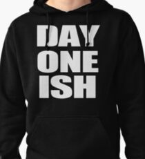 """The Usos """"Day One Ish"""" Clothing Pullover Hoodie"""