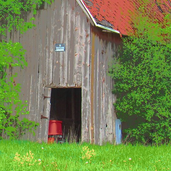 Old Barn by jdowdell1111