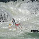 In the Rapids by Graeme  Hyde