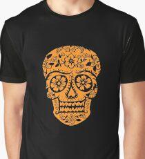 Sugar Skull SF Halloween on blk Graphic T-Shirt