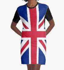 Flag: United Kingdom Graphic T-Shirt Dress