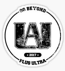 U.A. High Shirt - Black Sticker