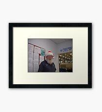 Ferb our own C.A.P.S. Santa Framed Print