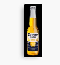 Lienzo Botella Corona