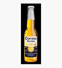 Korona-Flasche Fotodruck